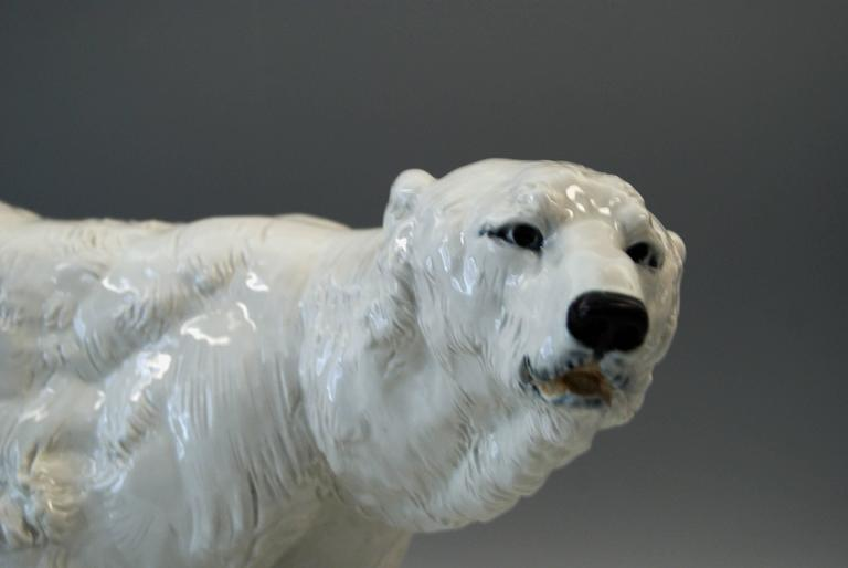Other Meissen Ice Bear Animal Figurine Model T 181 Jarl Otto made circa 1935 For Sale