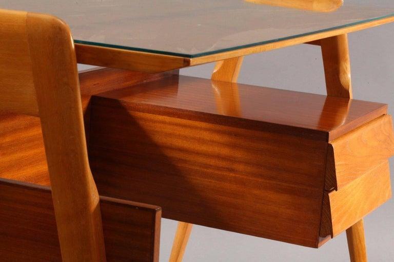 Italian Writing Desk Designed by Vittorio Dassi, Italy, 1950 For Sale