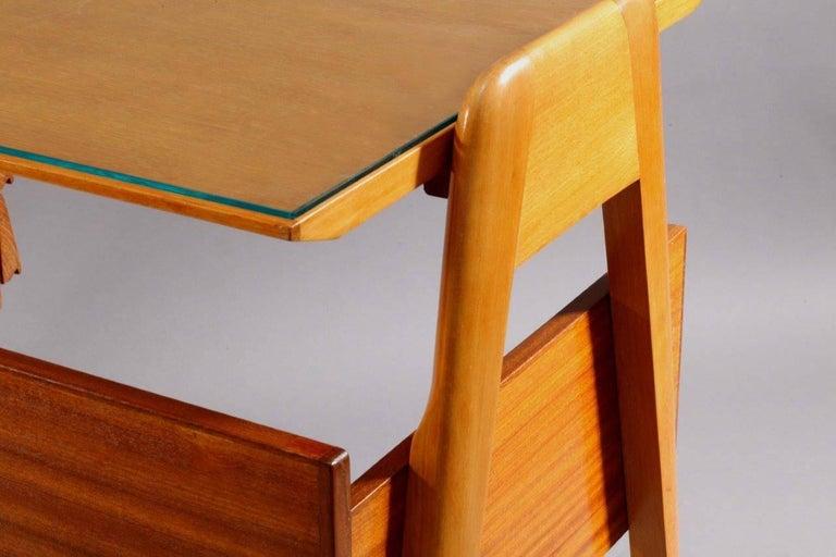 20th Century Writing Desk Designed by Vittorio Dassi, Italy, 1950 For Sale