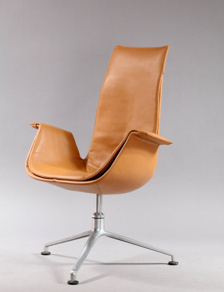 German Two FK 6725 Tulip Chairs by Preben Fabricius & Jorgen Kastholm For Sale