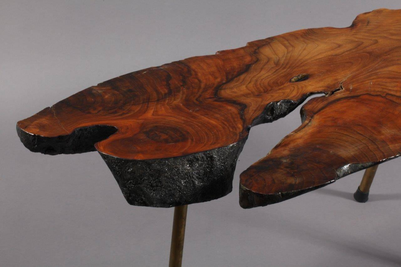 Tree Trunk Table Designed By Carl Aub Ck Vienna 1950 For Sale