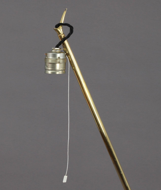 Charming Golf Floor Lamp Designed Rupert Nikoll Vienna