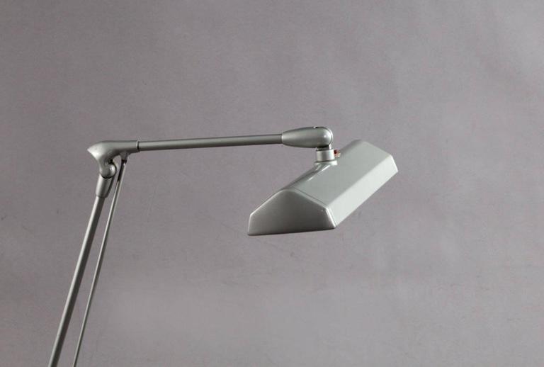 European Vintage Industrial Design Dazor Floating Lamp For Sale