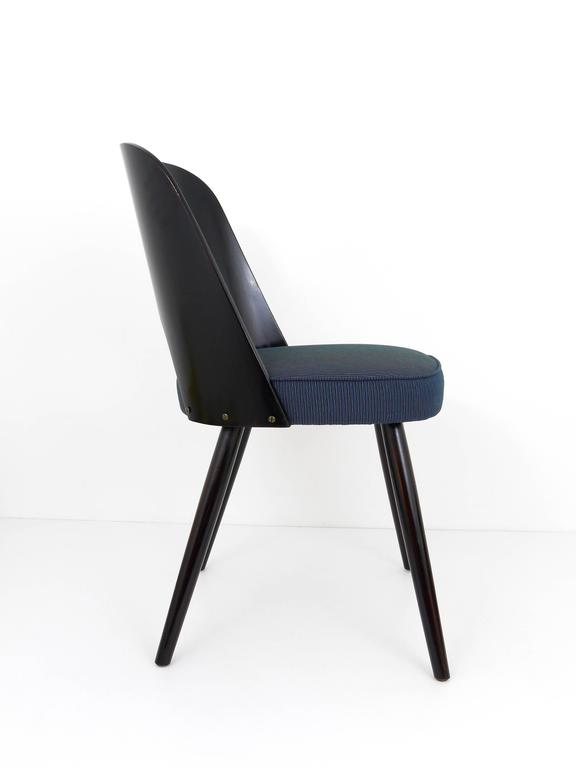 Set of Six Modernist Dining Chairs by Oswald Haerdtl, Ton, 1950s In Excellent Condition For Sale In Vienna, AT