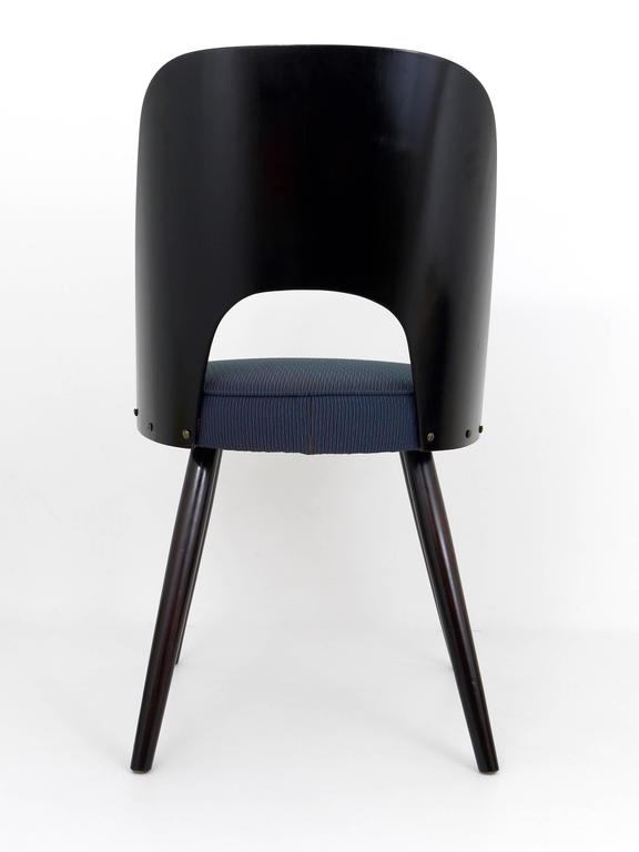 20th Century Set of Six Modernist Dining Chairs by Oswald Haerdtl, Ton, 1950s For Sale