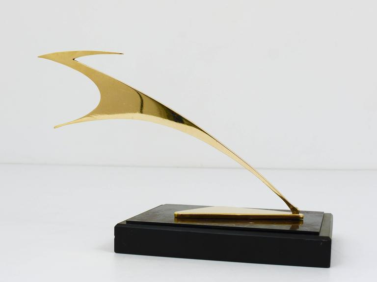 Beautiful Gazelle Sculpture in the style of Franz Hagenauer, Austria, 1950s 5