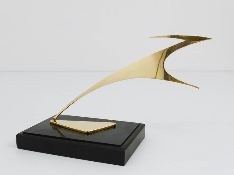 Beautiful Gazelle Sculpture in the style of Franz Hagenauer, Austria, 1950s 9