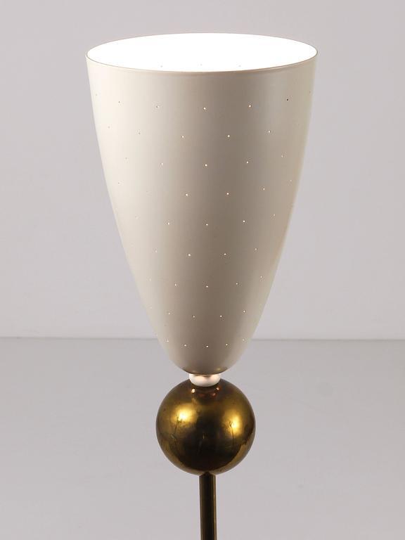 Beautiful Mid Century Uplight Tripod Floor Lamp Stilnovo