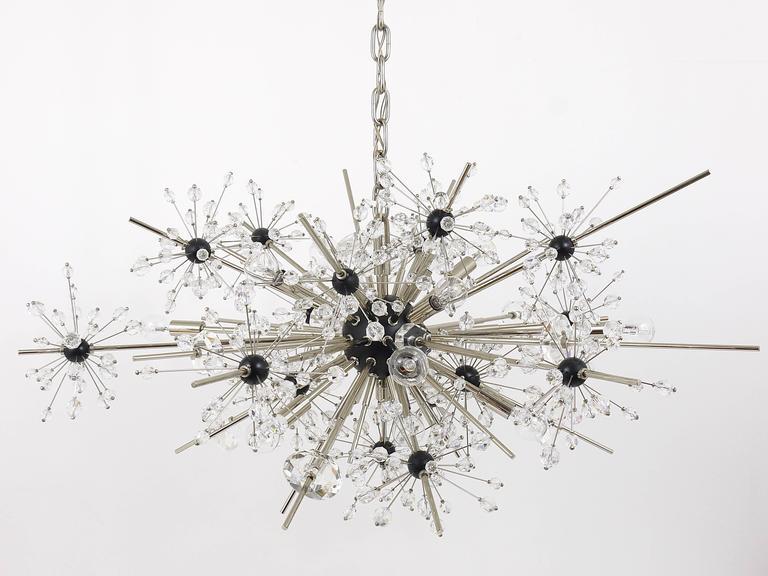 Huge Metropolitan Opera Crystal Sputnik Met Chandelier by Lobmeyr Vienna 1