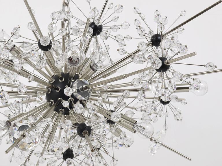 Huge Metropolitan Opera Crystal Sputnik Met Chandelier by Lobmeyr Vienna 2