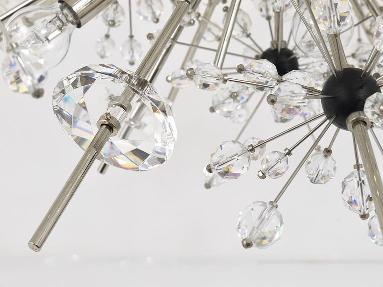 Austrian Huge Metropolitan Opera Crystal Sputnik Met Chandelier by Lobmeyr Vienna