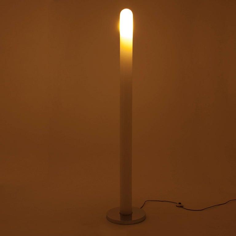 Mid-Century Modern Carlo Nason Murano Glass Floor Lamp for Mazzega, Italy, 1960s For Sale
