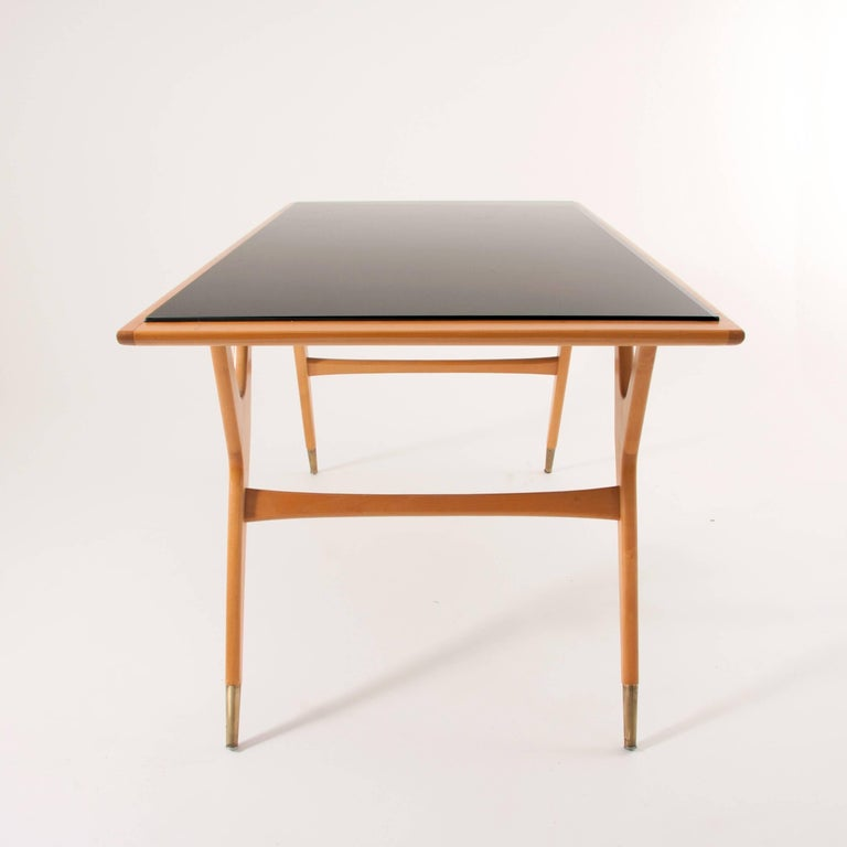 Exceptional Midcentury Coffee Table Attributed to Ico Parisi, Italy, 1950s For Sale 2