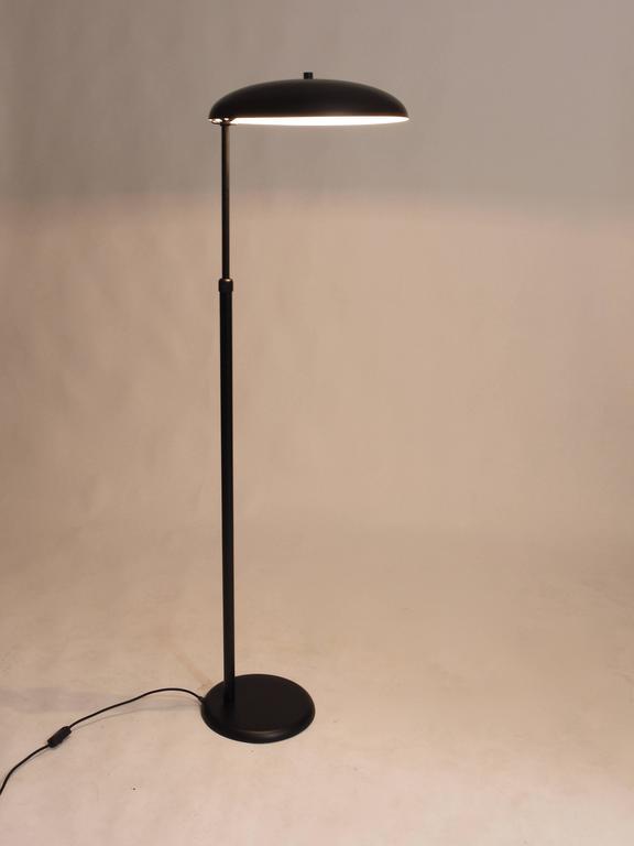 Black Telescope Floor Lamp Height Adjustable France