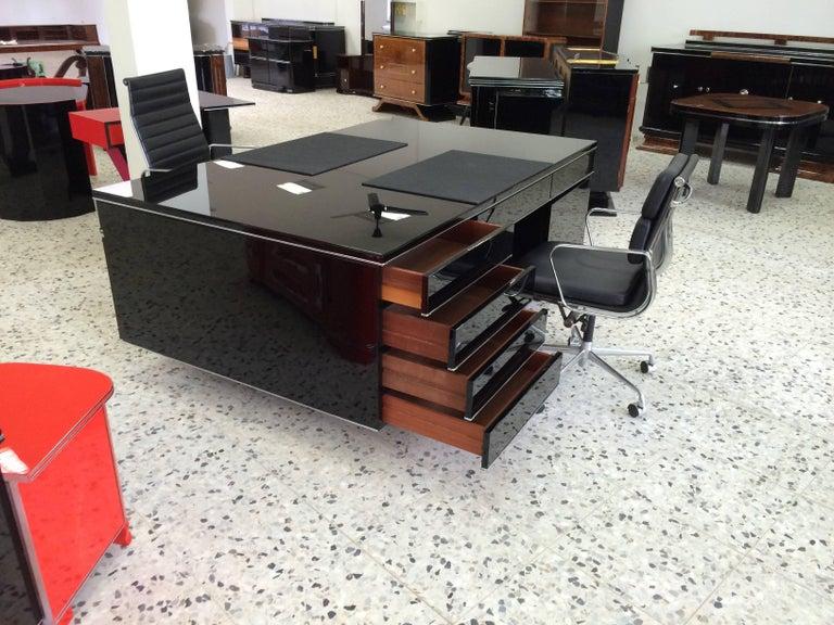 Extra Large Bauhaus Style Partner Desk 2