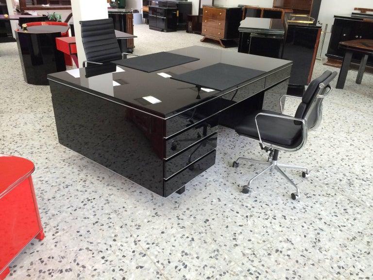 Extra Large Bauhaus Style Partner Desk 3