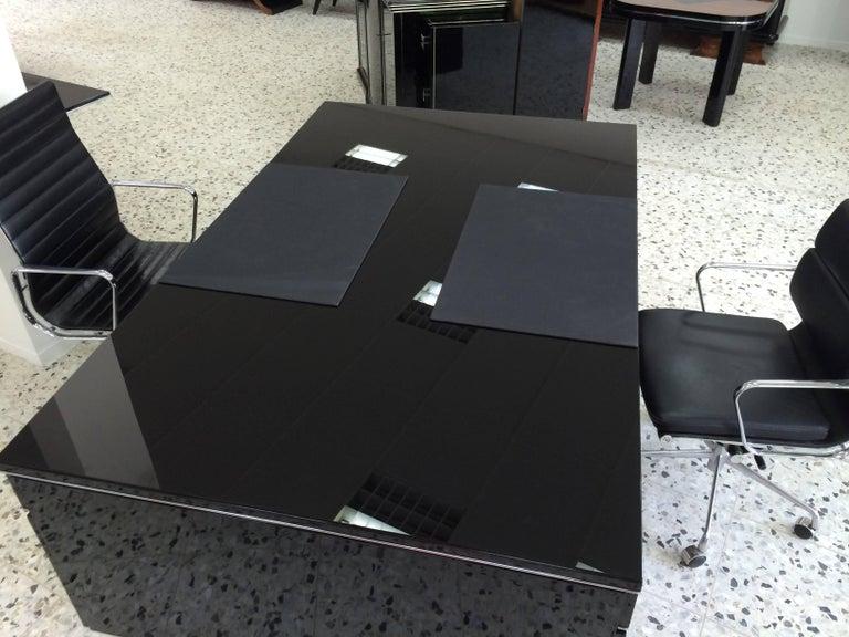 Extra Large Bauhaus Style Partner Desk 5