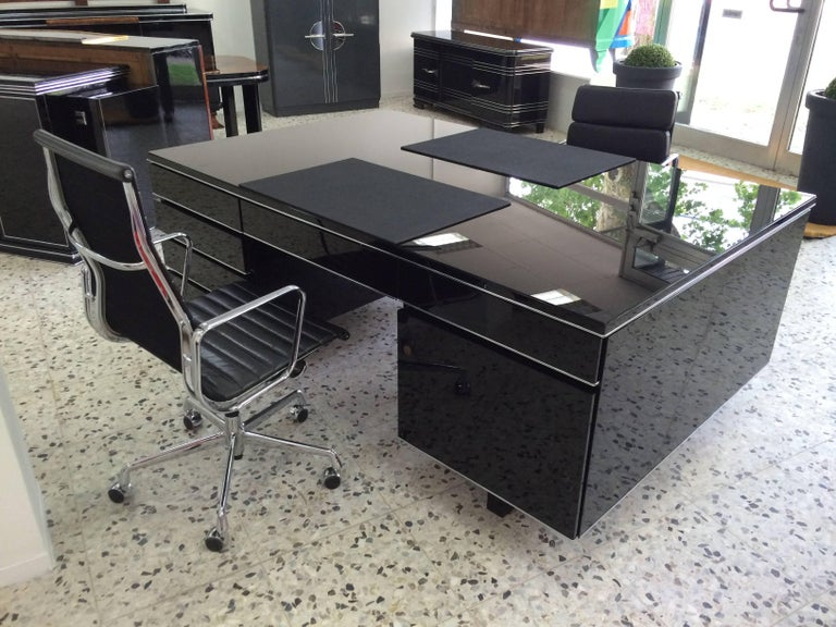 Extra Large Bauhaus Style Partner Desk 6