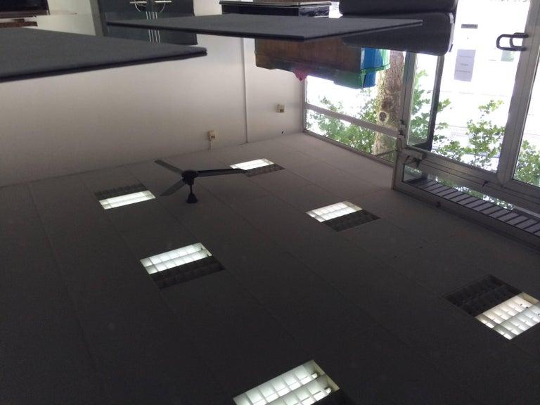 Extra Large Bauhaus Style Partner Desk 7