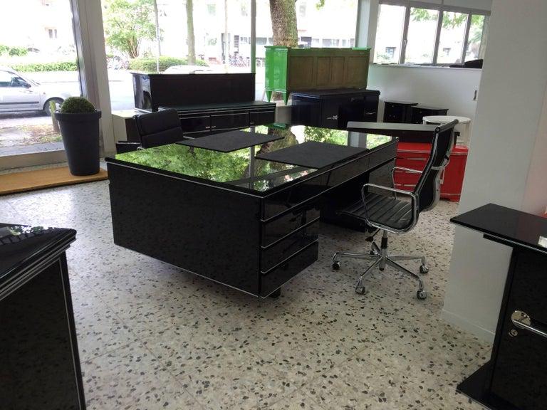 Extra Large Bauhaus Style Partner Desk 8