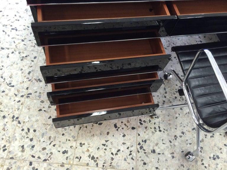 Extra Large Bauhaus Style Partner Desk 10