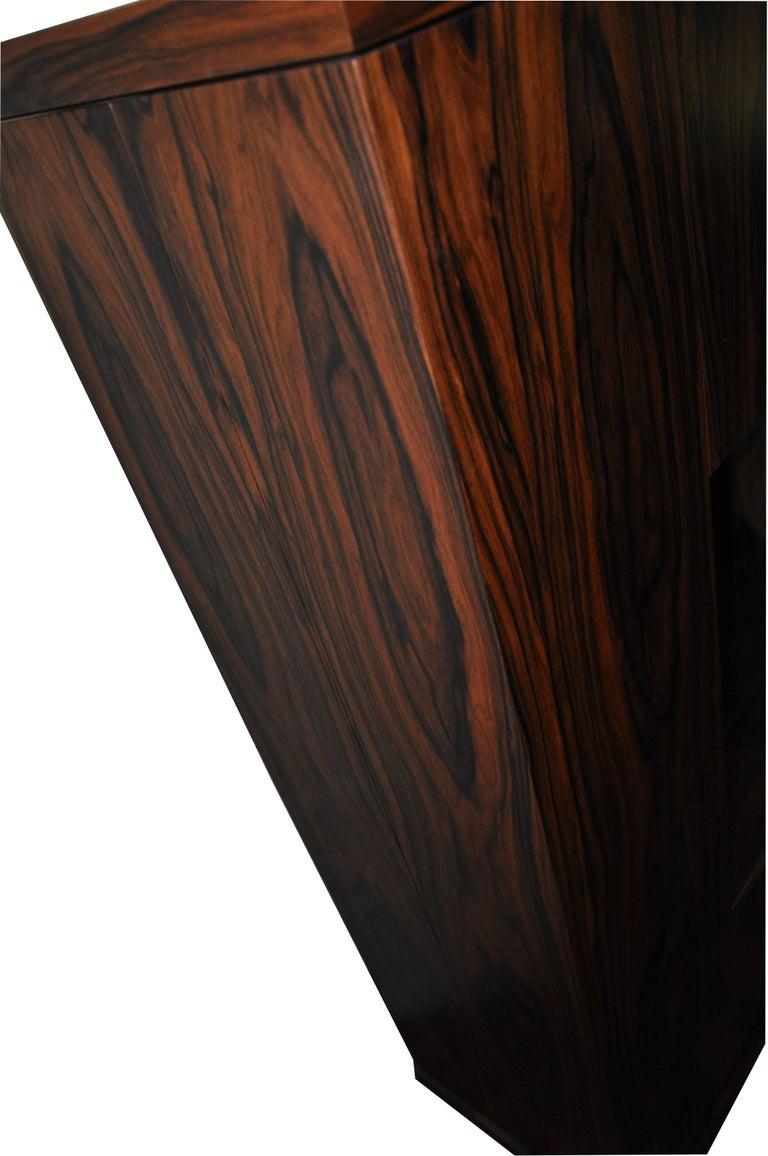 Art Deco Palisander Dry Bar Cabinet For Sale
