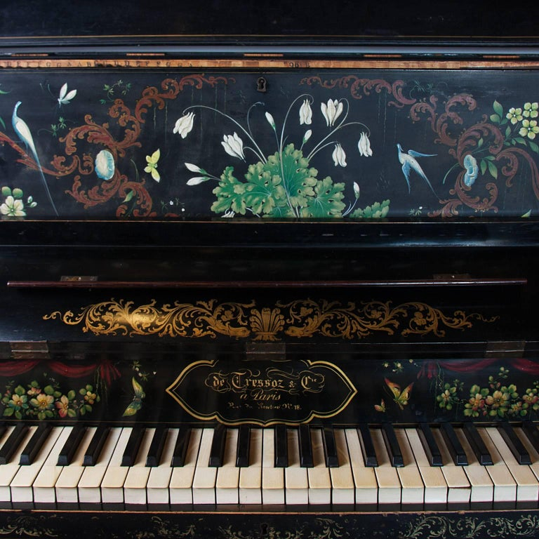 19th Century Painted Piano For Sale 1