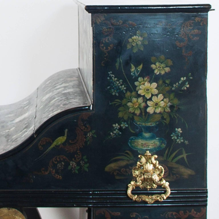19th Century Painted Piano For Sale 6