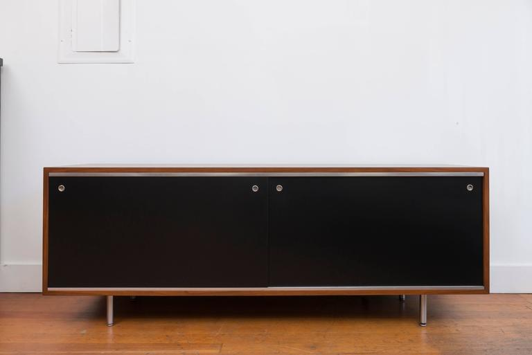 George  Nelson Walnut Credenza for Herman Miller 2