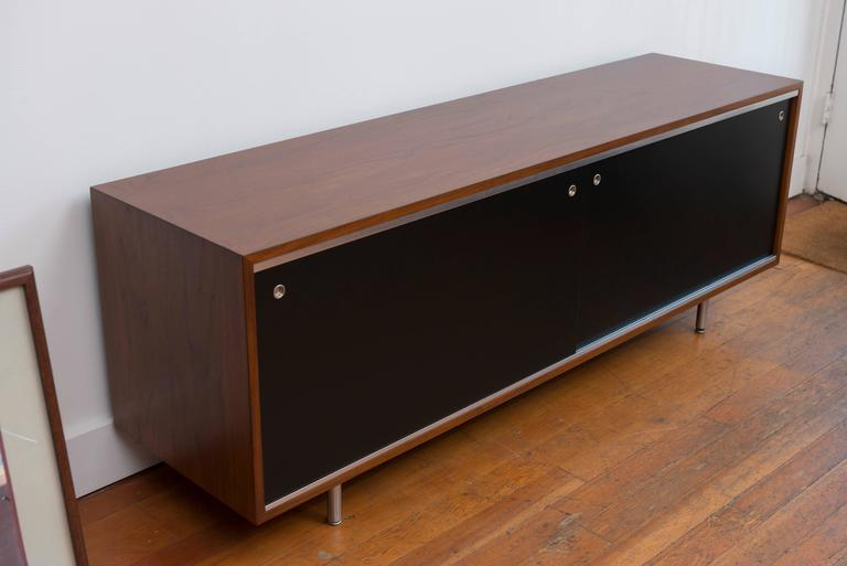 George  Nelson Walnut Credenza for Herman Miller 3