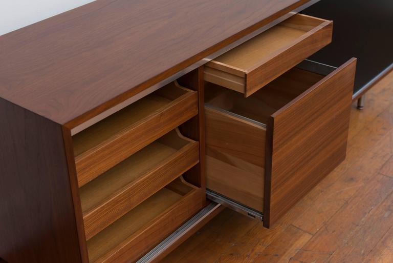George  Nelson Walnut Credenza for Herman Miller 6