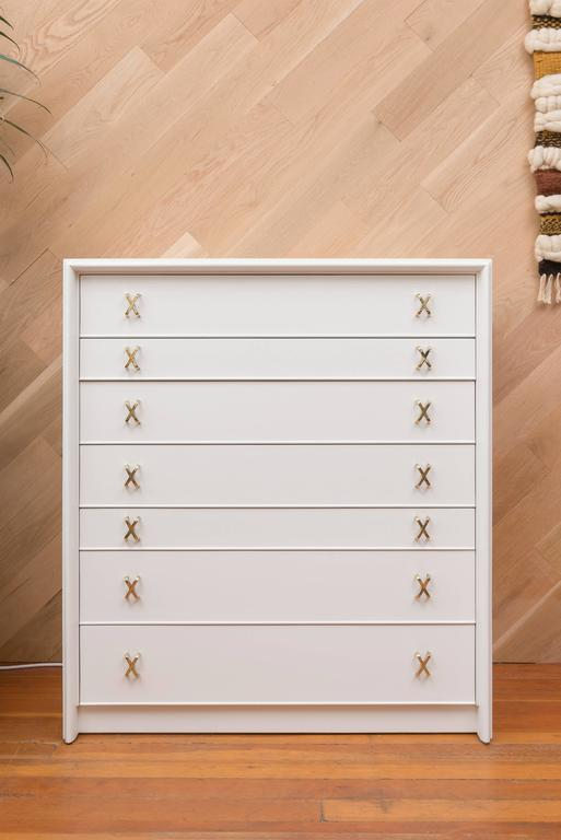 Lacquered Paul Frankl Seven-Drawer Chest 2