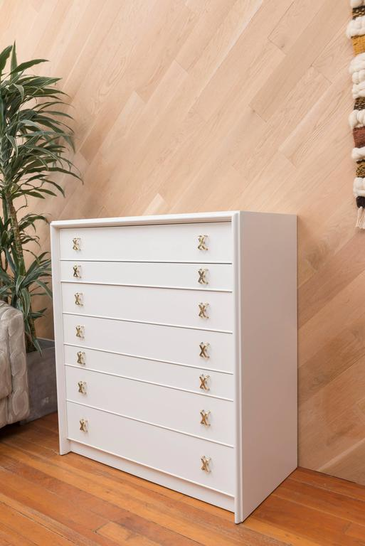 Lacquered Paul Frankl Seven-Drawer Chest 4