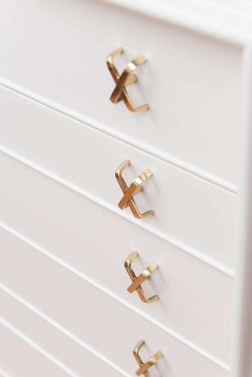 Lacquered Paul Frankl Seven-Drawer Chest 5