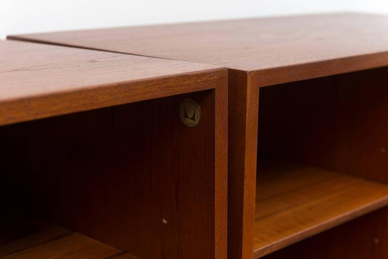 Pair of George Nelson Teak Shelves for Herman Miller 4
