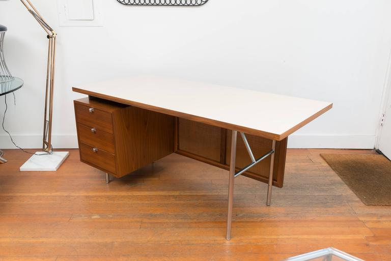 George Nelson Walnut Desk 6