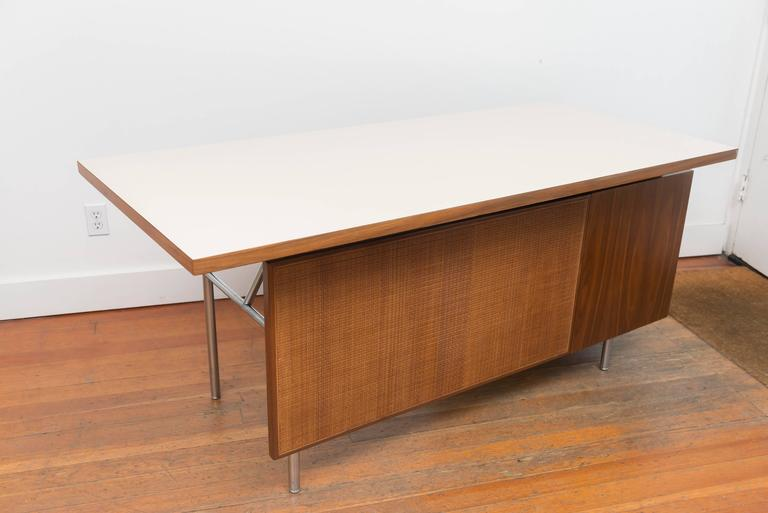 George Nelson Walnut Desk 8