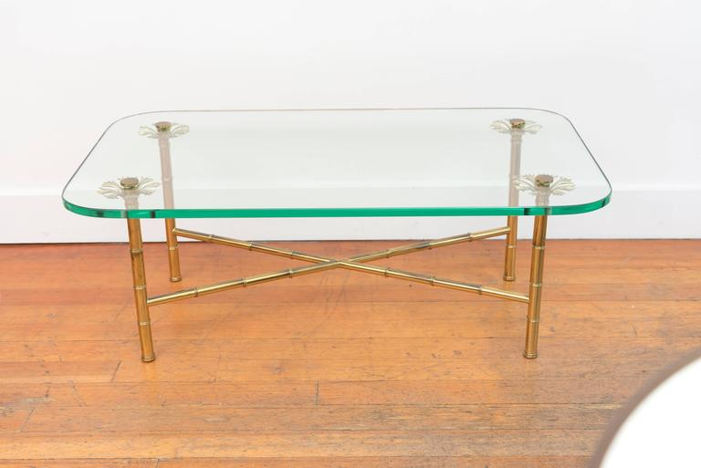 Italian Brass Cocktail Table 4