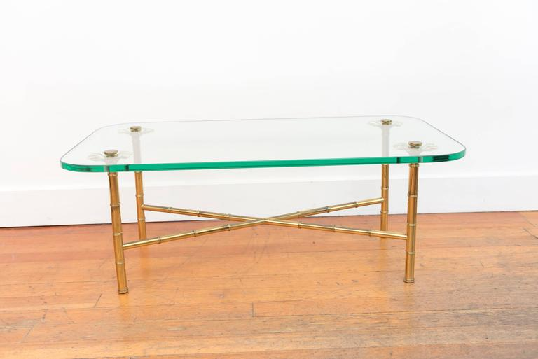 Italian Brass Cocktail Table 5
