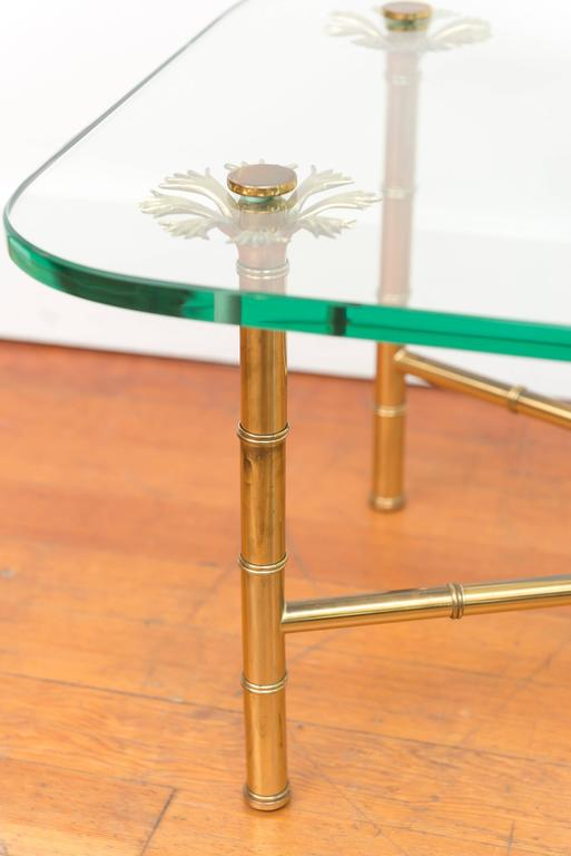Italian Brass Cocktail Table 6