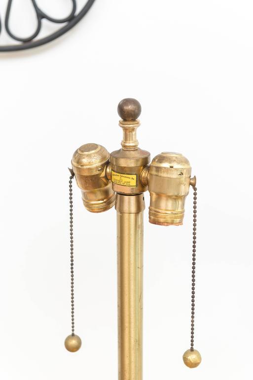 Marbro Italian Glass Lamp 3