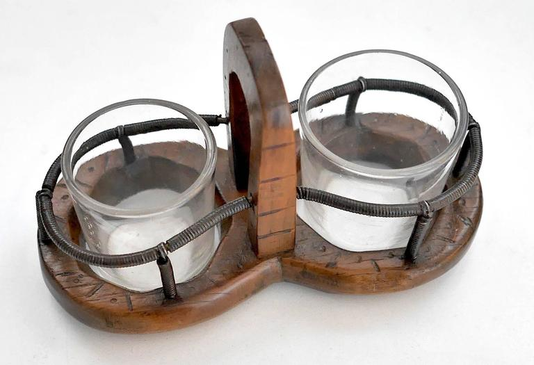 19th century salt and pepper display for sale at 1stdibs - Salt and pepper shaker display case ...