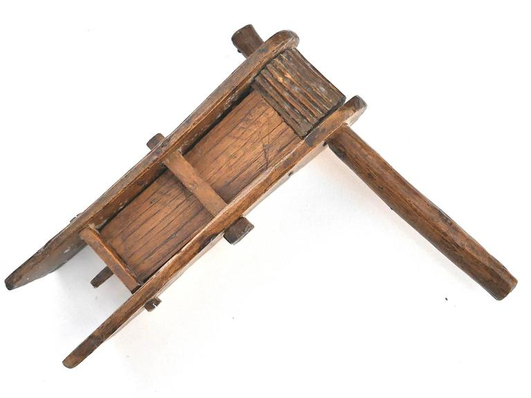 19th Century Wooden Rattle 3