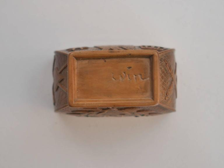 19th Century Napoleon's Coffin Snuffbox For Sale 2
