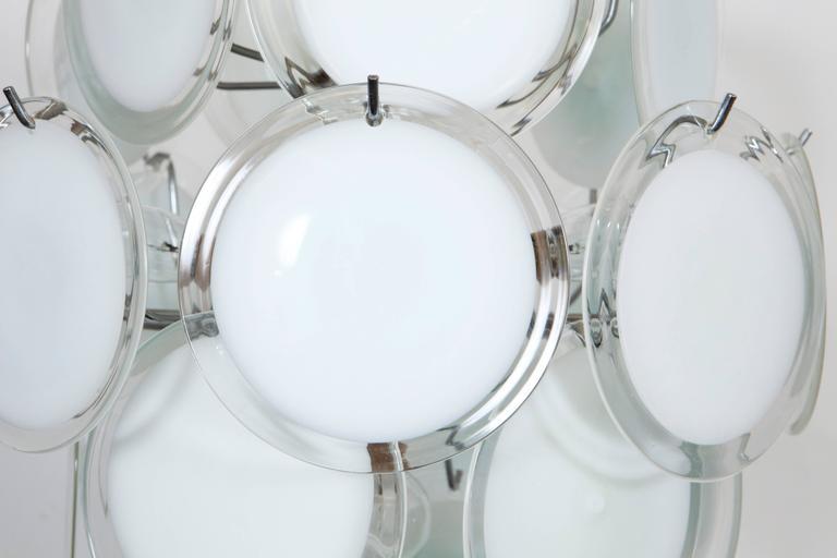 Gino Vistosi Murano Glass Chandelier 4