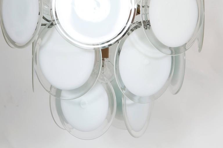Gino Vistosi Murano Glass Chandelier 3