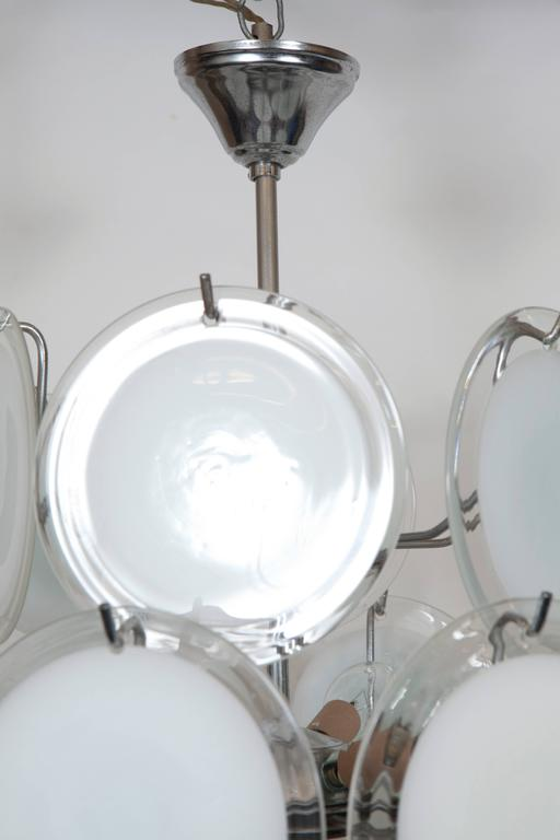 Gino Vistosi Murano Glass Chandelier 6