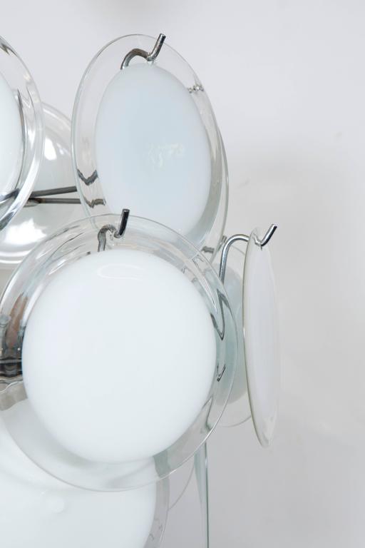 Gino Vistosi Murano Glass Chandelier 8