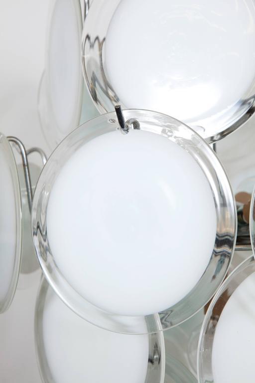Gino Vistosi Murano Glass Chandelier 5