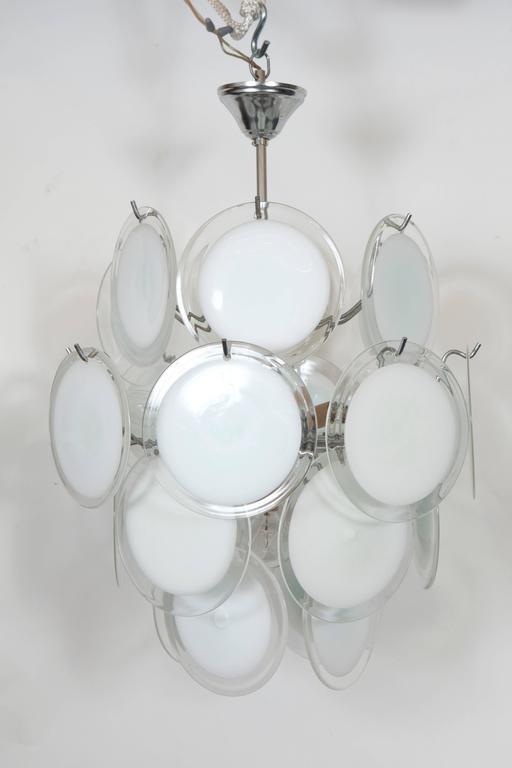 Gino Vistosi Murano Glass Chandelier 2